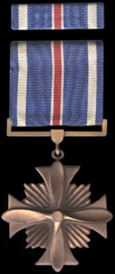Medals for Air force decoration citation