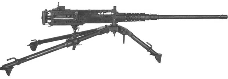 ww2 50 caliber machine gun